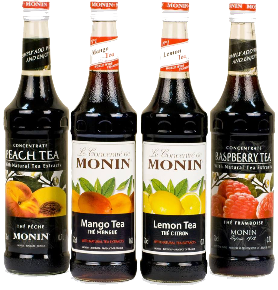 Made with the finest ingredients and authentic flavours, MONIN products are made with a total commitment to quality and providing flavour solutions.