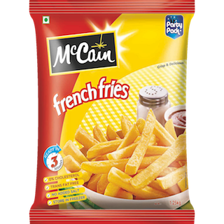 McCain products are a taste sensation - crispy on the outside, fluffy in the center and delicious through and through. Our customers enjoy their products!